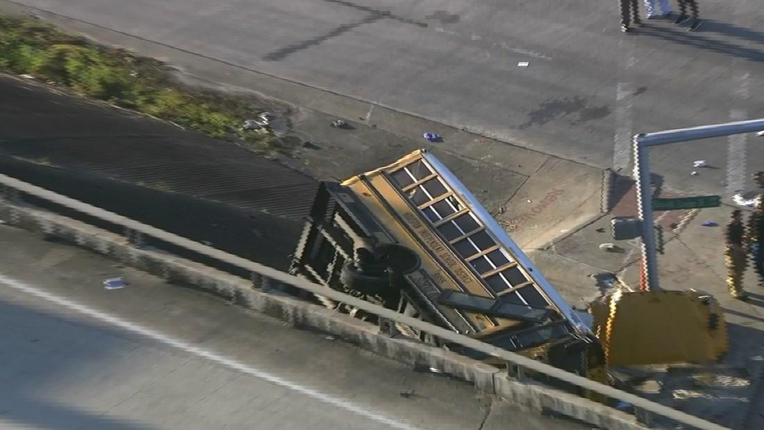 Houston school bus crash: 2 students killed - CNN