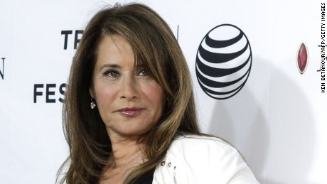 "Lorraine Bracco is shown here at the screening of ""Goodfellas"" during the 2015 Tribeca Film Festival at New York's Beacon Theatre."