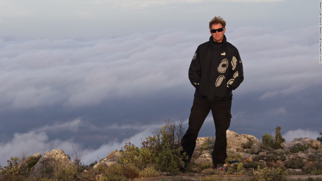 The two-time United States Rolex Yachtsman of the Year poses during a photoshoot on a mountain near Alicante, Spain, ahead of the Volvo Ocean Race in November 2011. Like the boat he steers, Read is well known to many who aren't avid sailing fans.