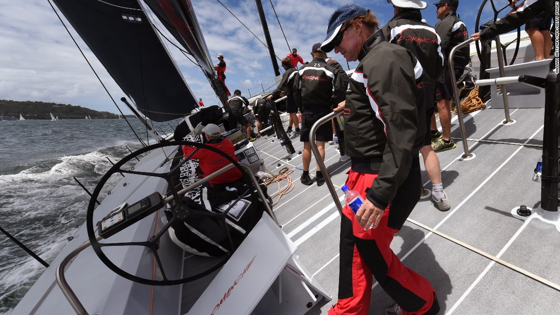 """What we were after with Comanche was do something just better than had ever been done before,"" Read told CNN Mainsail's Shirley Robertson. ""Something that had the capability of breaking records but it had to be safe."""