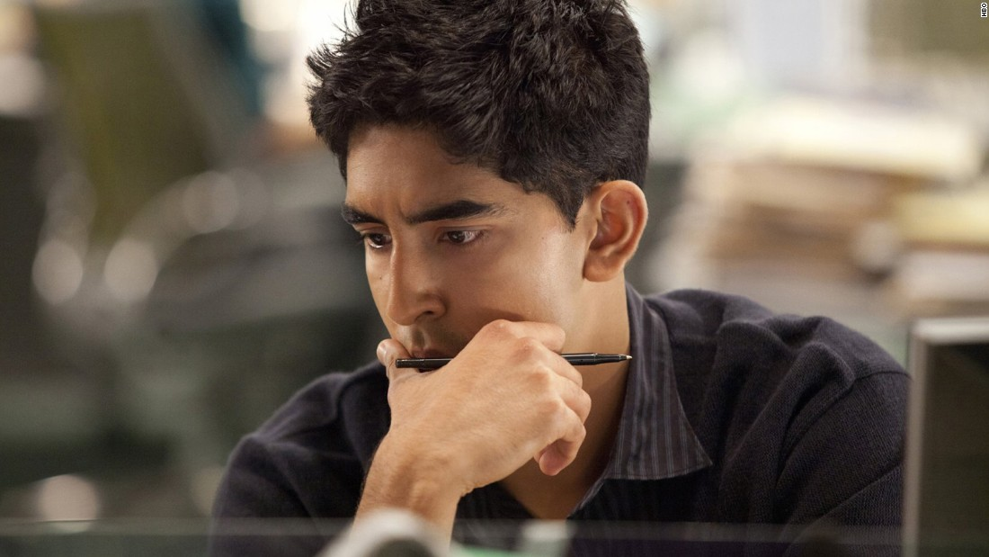 "<strong>Dev Patel</strong> played a blogger on HBO's ""The Newsroom,"" which ended its run in 2014 after three seasons. Patel first became known to American audiences when he starred in the 2008 movie ""Slumdog Millionaire."""