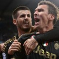 Mandzukic celebration juventus champions league