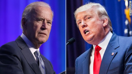 Joe Biden: Trump's NATO comments shouldn't be 'taken seriously'