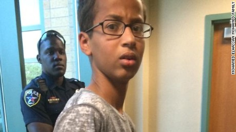 Ahmed Mohamed was arrested  Monday but by Wednesday he was feeling the love of Twitter.