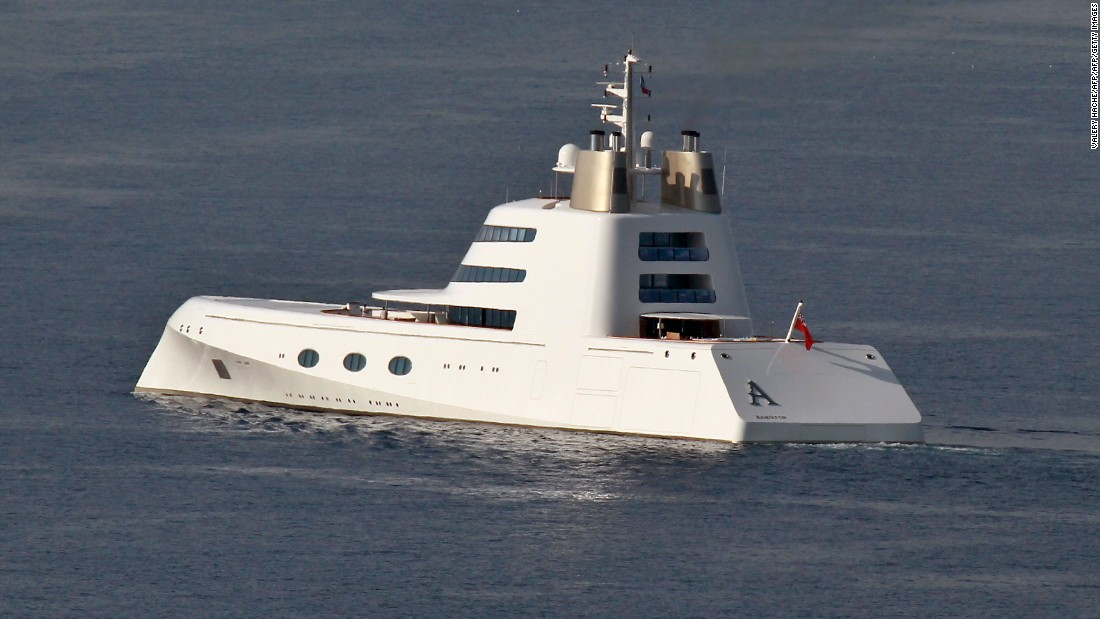 "Want to make sure your superyacht is at the front of the shipping register? The alphabetically-aware Melnichenko christened ""A"" so to make sure no boat could appear in front of it.<br />"