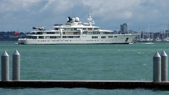 Allen's second-choice vessel is Tatoosh, a mere snip at $100m when he bought it in 2001. It created headlines when the son of the President of Equatorial Guinea hired it for £400,000 so the rapper Eve could perform for him.