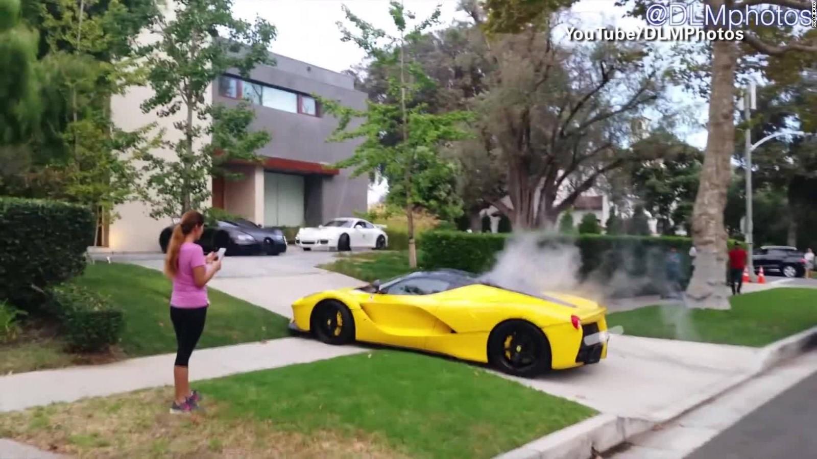 Fast cars, furious neighbors: Beverly Hills drag race - CNN Video