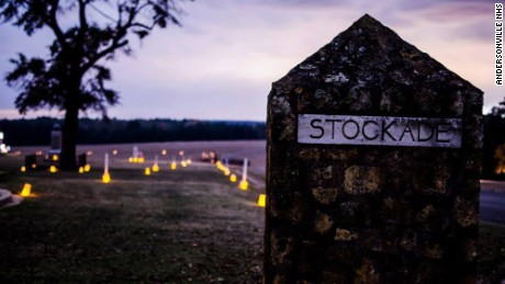 A memorial illumination will be held Friday and Saturday on the grounds of the camp stockade.