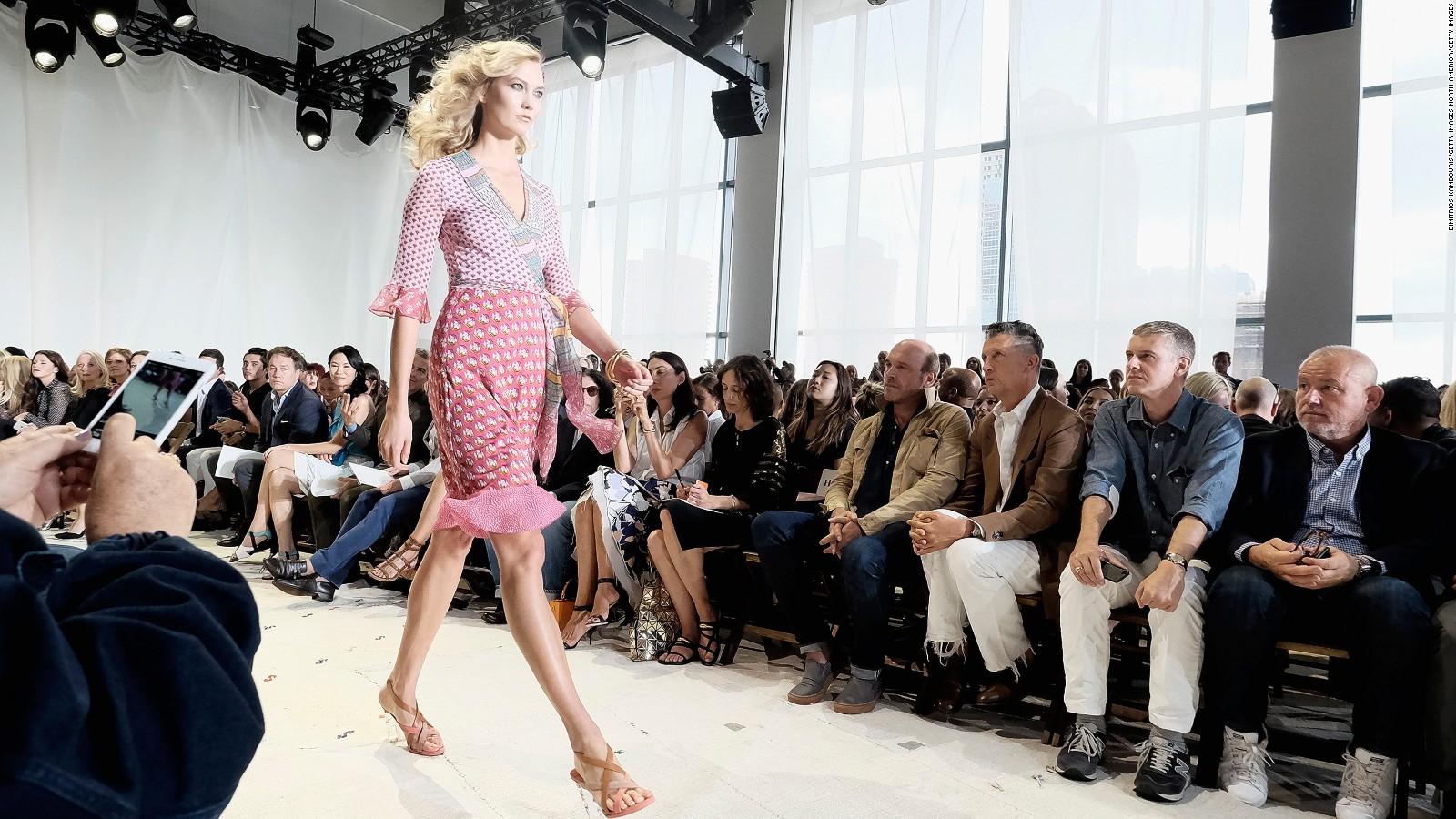 60503c3a276b7 Backstage at NYC Fashion Week: Diane von Furstenberg - CNN Style
