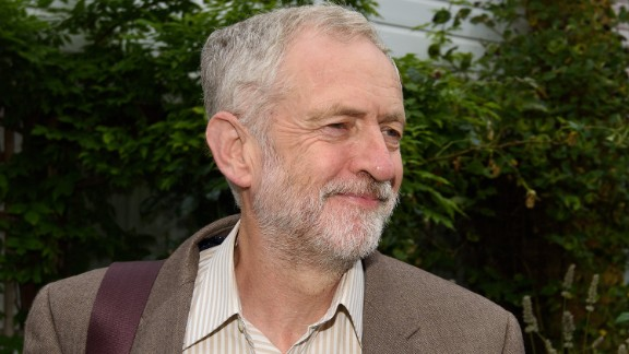 LONDON, ENGLAND - SEPTEMBER 16: Jeremy Corbyn departs his North London home ahead of the Prime Ministers questions on September 16, 2015 in London, England. This will be the labour leaders first Prime Minister's Questions in the House of Commons since being elected leader of labour party (Photo by Ben Pruchnie/Getty Images)