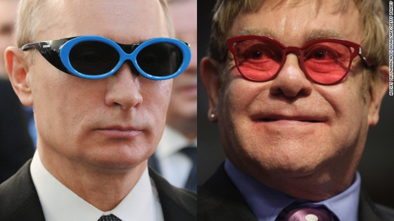 Elton John pranked by fake Putin call