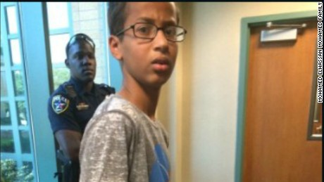 Ahmed Mohamed was arrested and led from his Texas high school