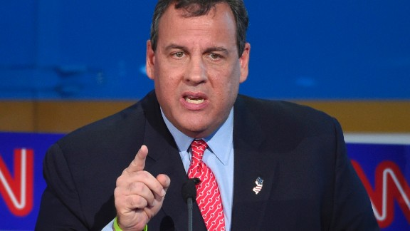 Christie makes a point.
