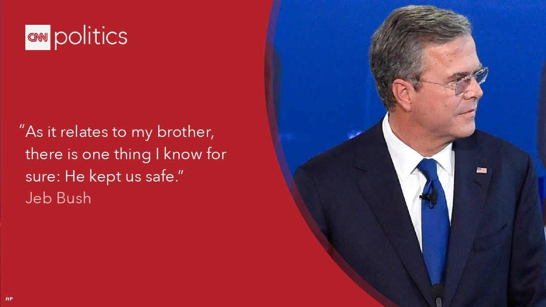 Jeb Bush Quotes Awesome 6 Takeaways From The Republican Presidential Debate  Cnnpolitics
