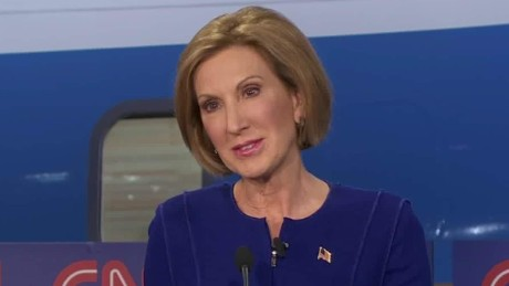 Fiorina: I wouldn't change the 10 or 20 dollar bill