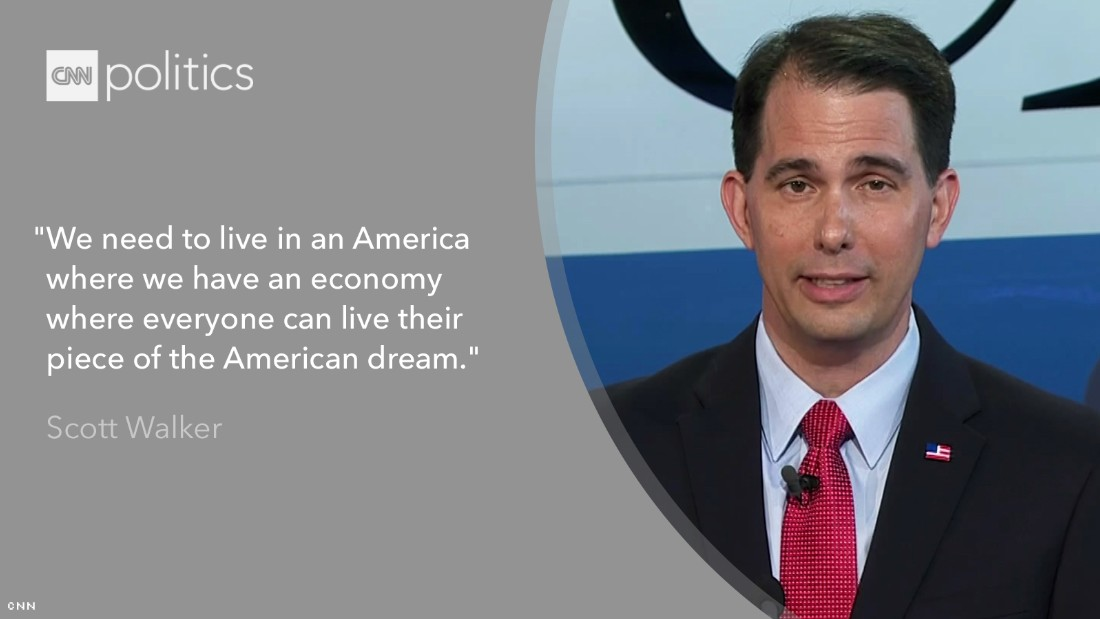 scott walker cnn debate