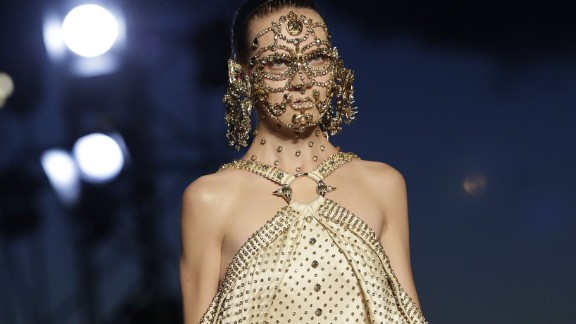 For the first time, Givenchy has left Paris Fashion Week to stage a celebrity-studded show in New York.