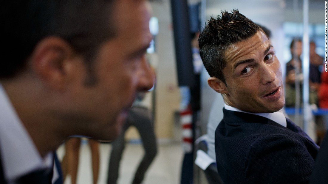 Mendes was at Ronaldo's side when the star renewed his Real contract in September 2013.