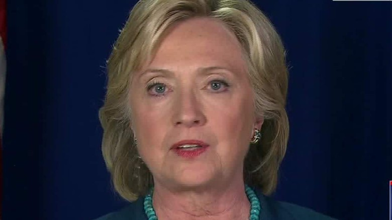 Hillary Clinton: 'No evidence' of email server hack