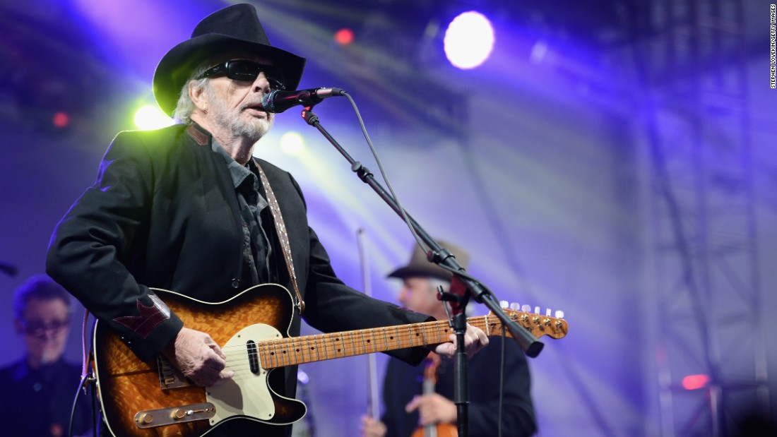 "After struggles with drugs and record label politics in the '80s and '90s, he made a comeback in the early 2000s. Haggard <a href=""http://www.cnn.com/2016/04/06/entertainment/merle-haggard-country-music-dies/"" target=""_blank"">died in 2016</a>, on his 79th birthday, of complications from pneumonia."