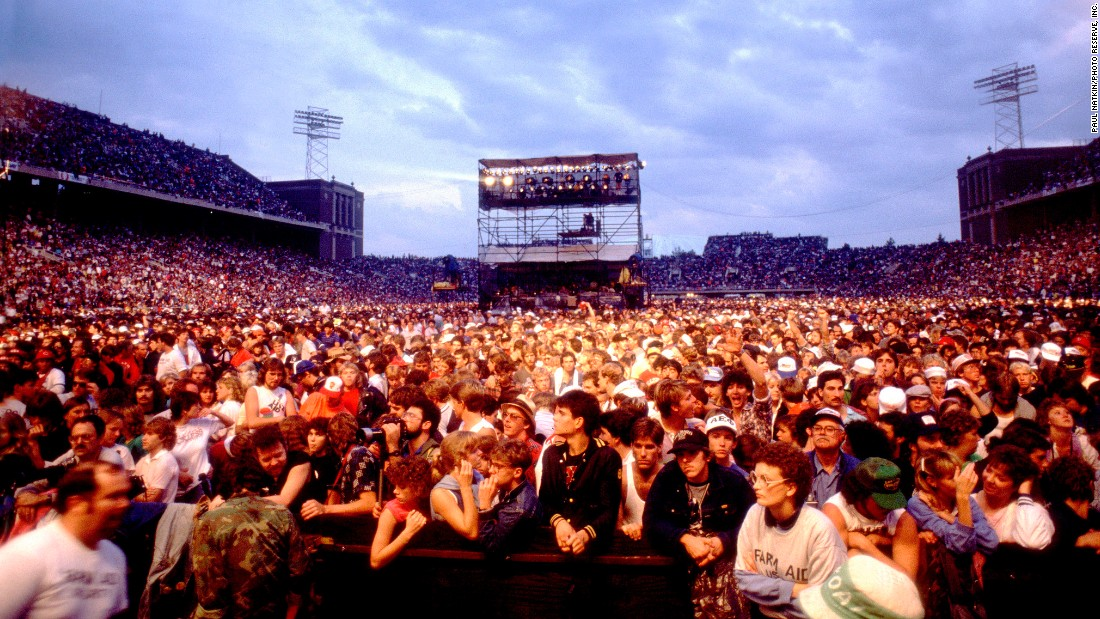 Farm Aid celebrated its 30th anniversary in 2015. The first show was held September 22, 1985, in Champaign, Illinois, in front of 80,000 people. Here's a look at some of the artists who played the original concert, and what they're up to now: