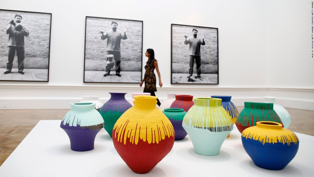 At Last In Pieces Ai Weiwei Is Here Cnn Style