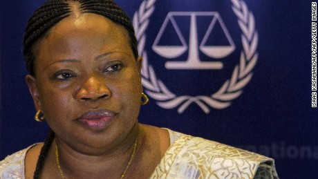 US revokes visa of International Criminal Court chief prosecutor
