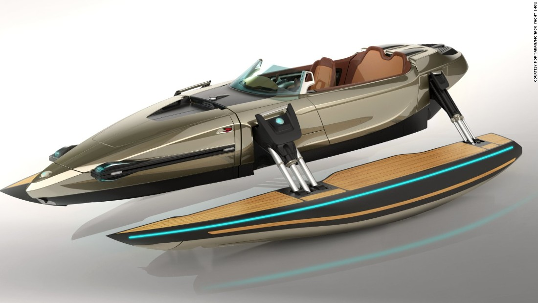 "It's difficult to pin down what exactly the <a href=""http://www.kormaran.com/"" target=""_blank"">Kormaran</a> is -- with the flick of a switch it can transform into a monohull, katamaran, trimaran, and even bathing platform for swimming. <br />"