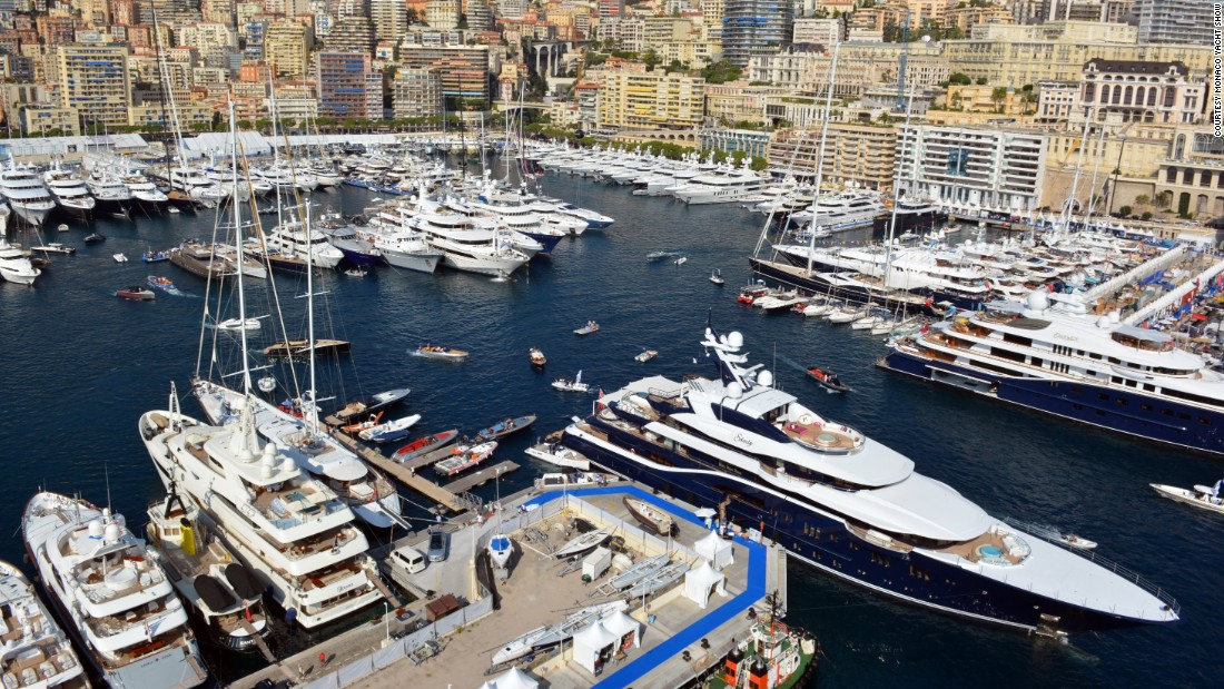 This will be the 25th edition of the boat show, with 121 superyachts on display, and over 33,000 visitors expected over three days.