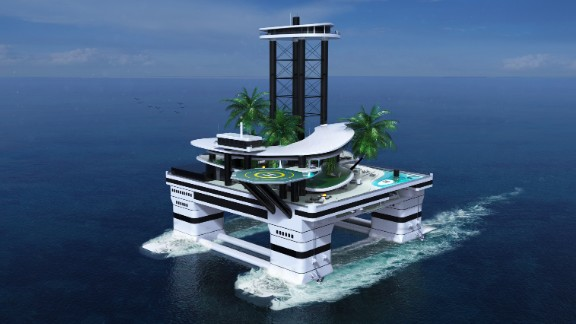 """The world of yacht design has seen some pretty out-there concepts in recent years -- from <a href=""""http://edition.cnn.com/2014/11/10/tech/gallery/fantastical-superyachts-of-the-future/"""">boats inspired by Lego</a>, to space-age <a href=""""http://edition.cnn.com/2013/07/01/tech/is-this-space-age-ipad-superyacht/"""">ships resembling a Concorde</a> jet on water. <br />But it's fairly safe to say that nothing comes close to <a href=""""http://www.migaloo-submarines.com/"""" target=""""_blank"""" target=""""_blank"""">Kokomo Ailand </a>-- the 80-meter-tall private floating island featuring a waterfall, shark feeding station, and two beach clubs.<br />Perhaps most unbelievable of all, is that Kokomo is not beyond the realms of reality. In fact its designers, <a href=""""http://www.migaloo-submarines.com/"""" target=""""_blank"""" target=""""_blank"""">Migaloo</a>, will be showcasing their plans at the <a href=""""http://www.monacoyachtshow.com/en/"""" target=""""_blank"""" target=""""_blank"""">Monaco Yacht Show</a> this week, and have apparently already received """"very strong"""" expressions of interest from clients across the world. <br />We take a closer look at the jaw-dropping design."""