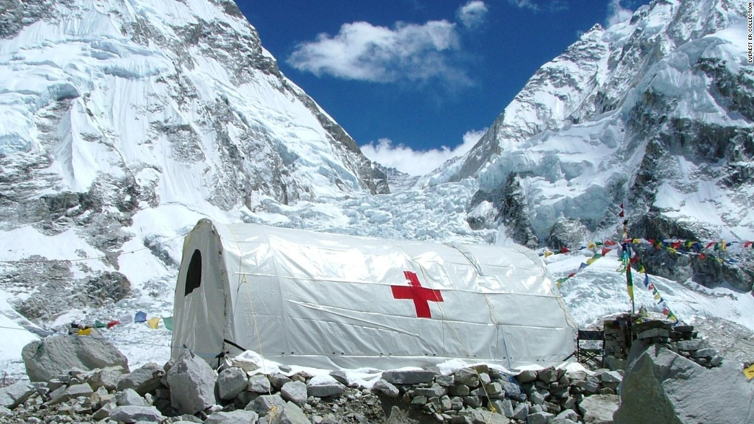 Before Everest ER, there was no medical presence on Everest. Only a couple of operational helicopters were capable of airlifting people with injuries to clinics.