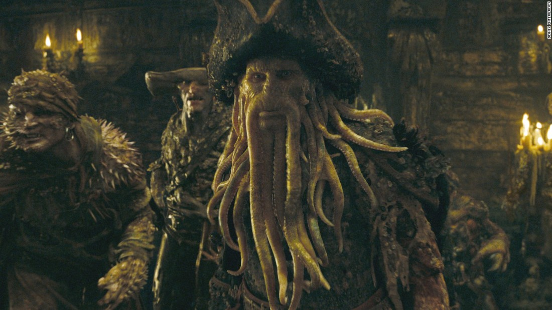 """Davy Jones' Locker"" is a nautical idiom for the bottom of the sea often used in the context of sailors and ships lost at sea. The origins of the name Davy Jones are unclear but for the <a href=""http://pirates.wikia.com/wiki/Davy_Jones"" target=""_blank"">""Pirates of Caribbean"" franchise</a>, Jones became the supernatural ruler of the Seven Seas as the condemned captain of the Flying Dutchman."