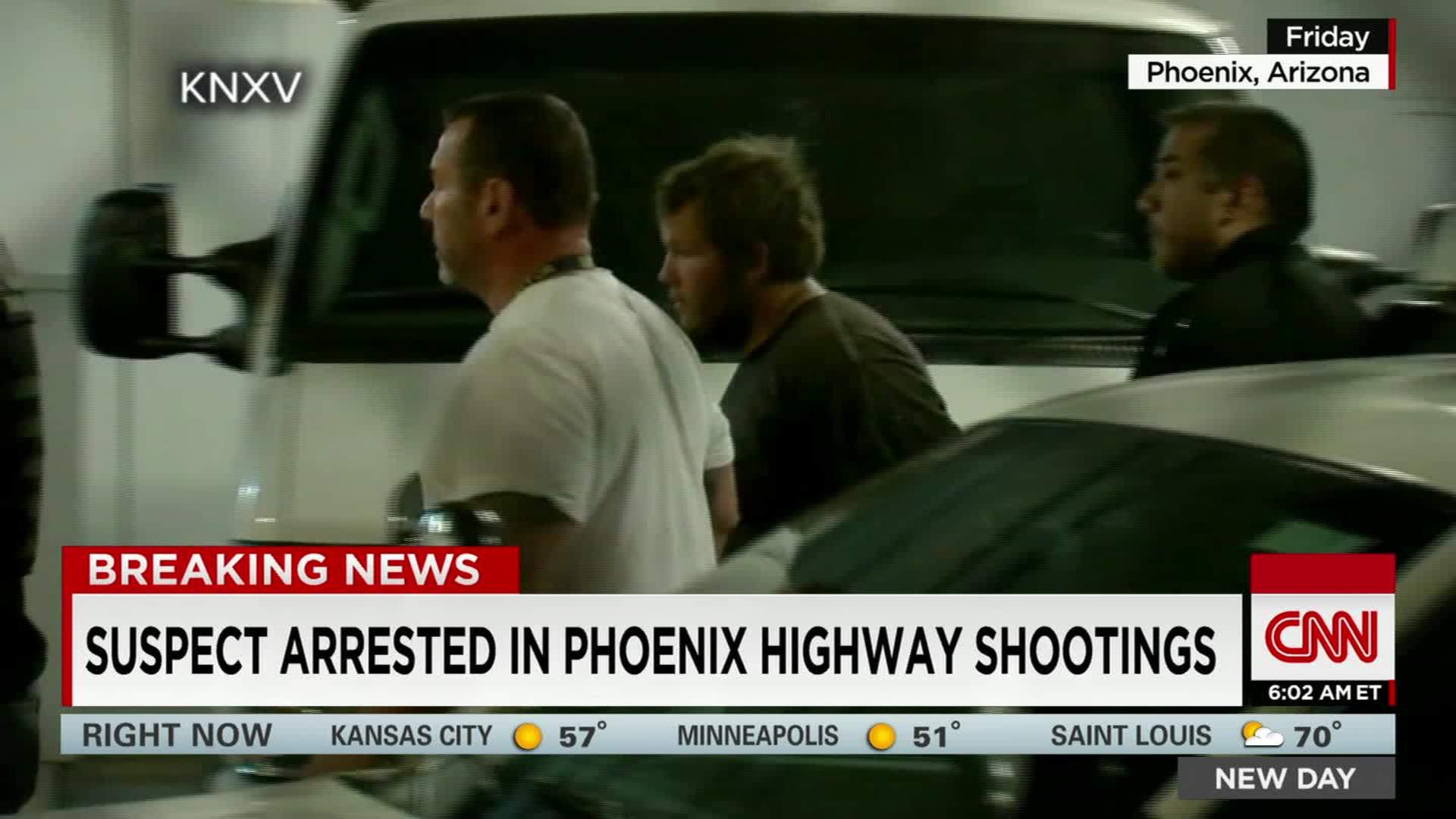 Police arrest suspect in Phoenix freeway shootings - CNN Video