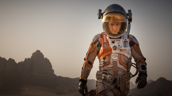 """<strong>Best actor in a motion picture -- musical or comedy:</strong> Matt Damon, """"The Martian"""""""