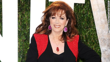 WEST HOLLYWOOD, CA - FEBRUARY 26:  Author Jackie Collins arrives at the 2012 Vanity Fair Oscar Party hosted by Graydon Carter at Sunset Tower on February 26, 2012 in West Hollywood, California.  (Photo by Pascal Le Segretain/Getty Images)