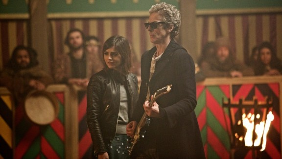 """On November 23, 1963, """"Doctor Who"""" was first broadcast on the BBC. Today, it remains a cult favorite among science-fiction fans young and old. Peter Capaldi (pictured with Jenna Coleman) took over as the Twelfth Doctor in 2014. Click through the gallery to see the men who have played the title character."""