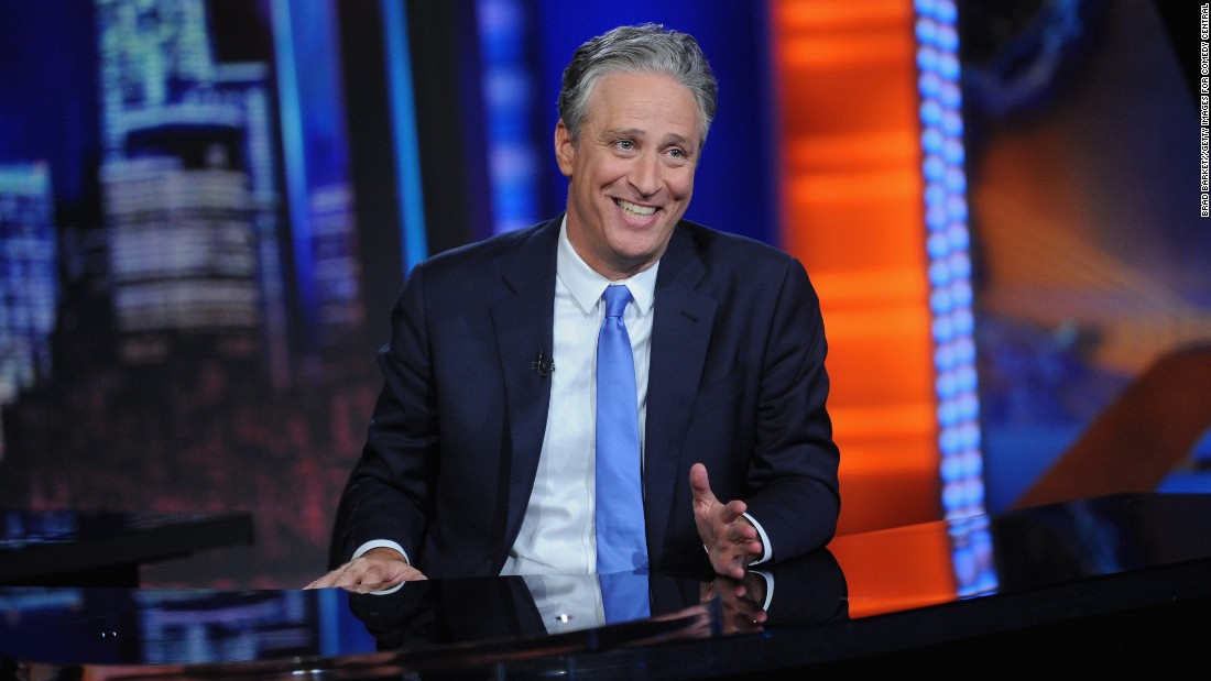 "<strong>Outstanding Variety Talk Series:</strong> ""The Daily Show with Jon Stewart"""