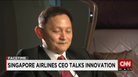 Singapore Airlines CEO talks innovation