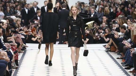 Critics were impressed by the wearability of Burberry