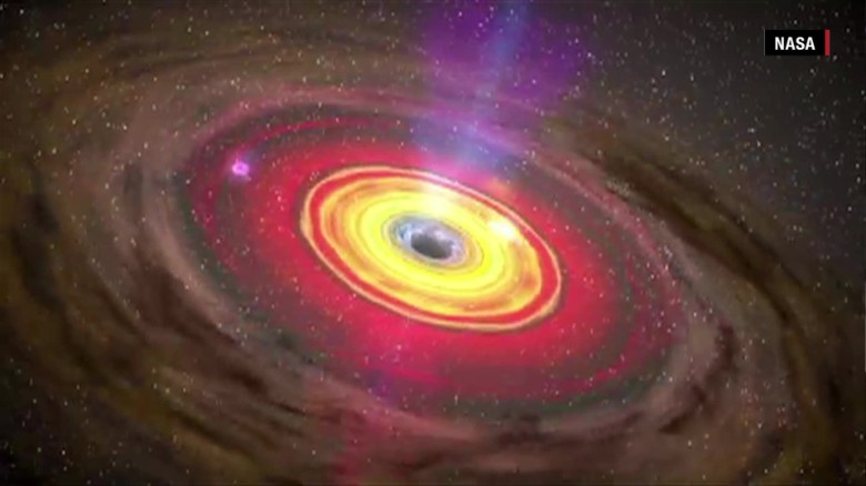 Black hole is 350,000,000 times larger than the sun
