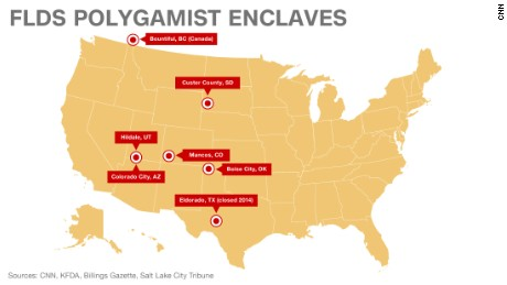 Colorado City Utah Map.Flds Case Feds Deal Double Blow For Polygamous Sect Cnn