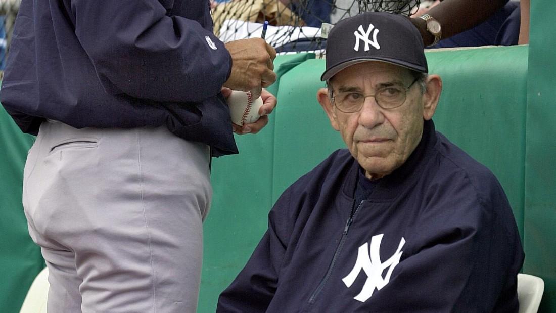 b6e5e5724 Yogi Berra, Hall of Fame catcher for Yankees, dies - CNN