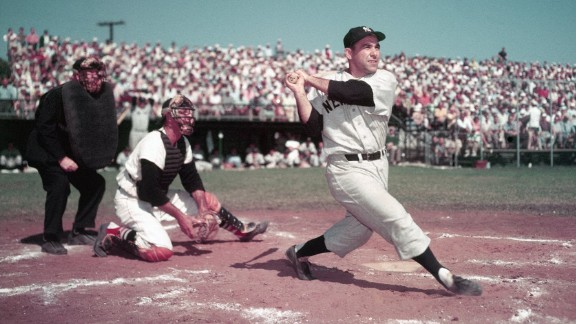 New York Yankees legend Yogi Berra, who helped the team win 10 World Series titles, died September 22, the Yogi Berra Museum said. He was 90.