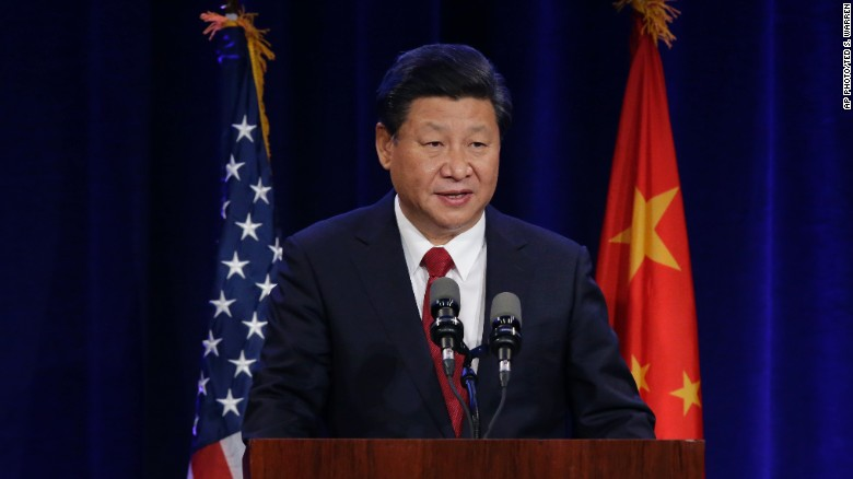 China reacts to President Xi's U.S. speech