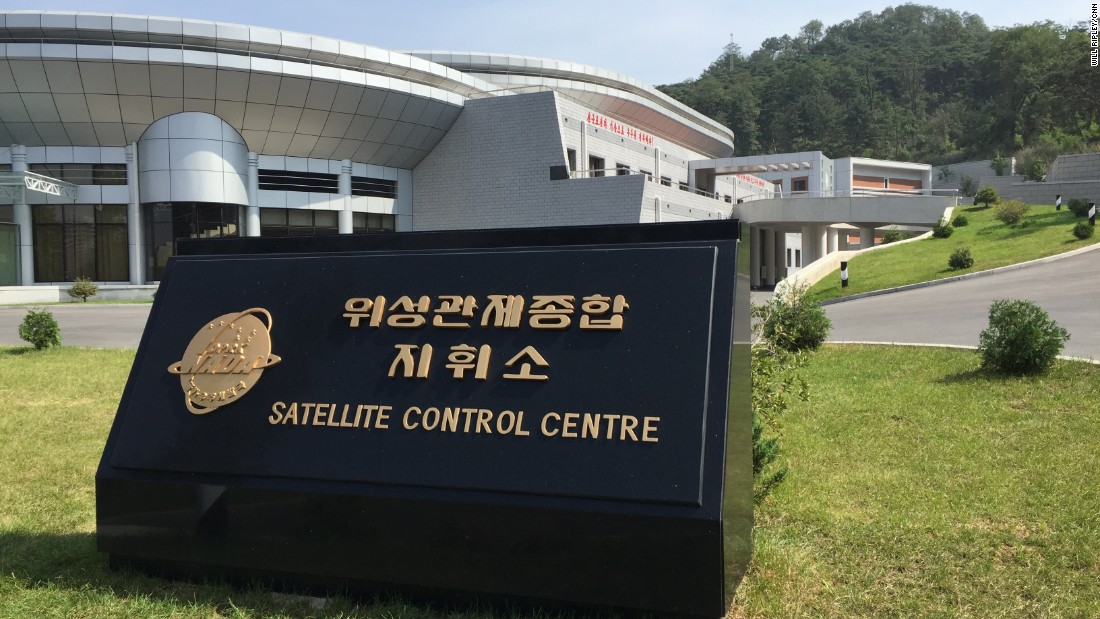 Some international observers have speculated the satellite control center is actually a military facility, but its appearance, at least on the surface -- without heavy barriers or visible armed presence -- suggests otherwise.