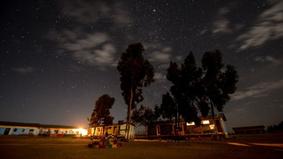 A starry night in Ethiopia.
