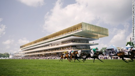 Longchamp's 'green' renovations well under way
