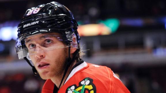 Chicago Blackhawks star Patrick Kane has denied the rape allegations against him.