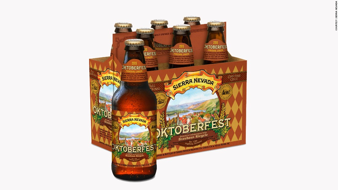 <strong>Sierra Nevada</strong>, one of America's most venerable craft brewers, partnered with German brewer Brauhaus Riegele for this year's <strong>Oktoberfest </strong>beer. Flip through the gallery for a look at 11 other noteworthy fall brews.