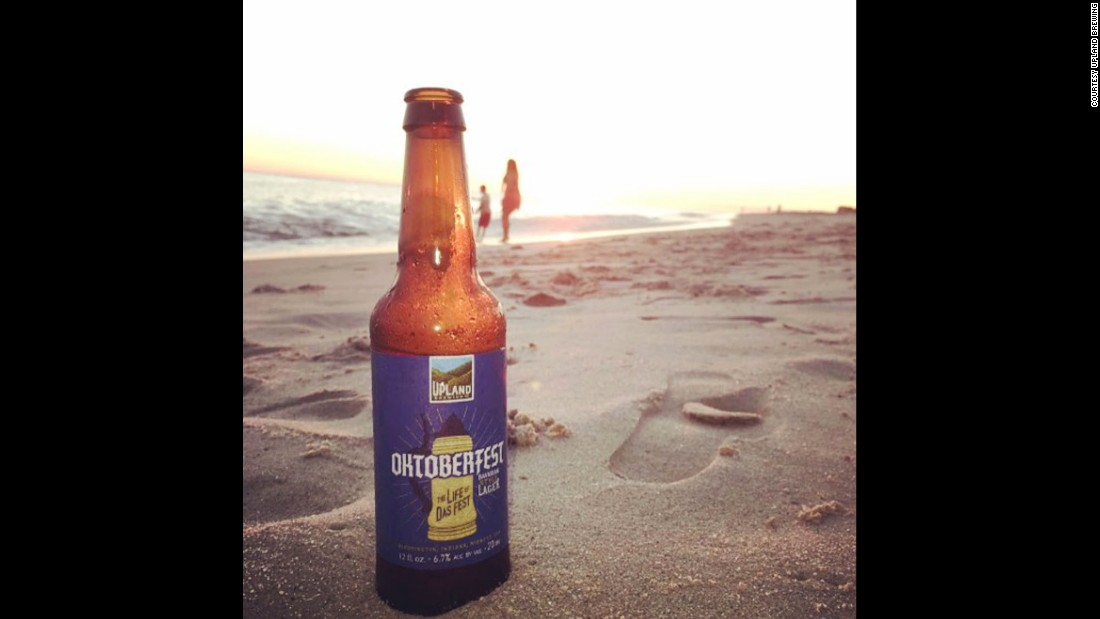 Indiana's <strong>Upland Brewing</strong> makes this easy-drinking <strong>Oktoberfest</strong> Bavarian-style lager. Perfect for a fall day at the beach.